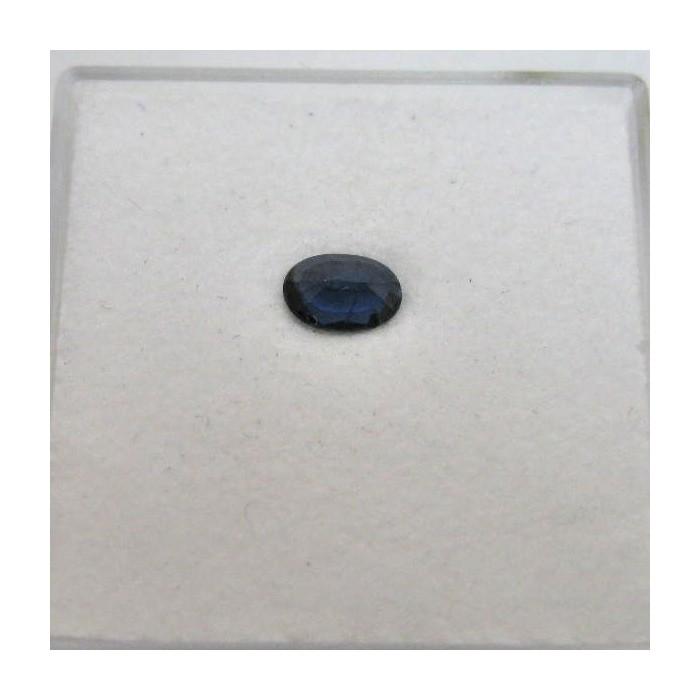 Saphir ovale naturel