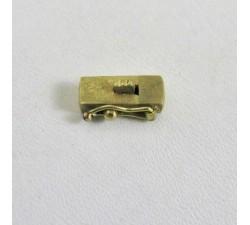 Fermoir Cliquet pour bracelet ou Collier Or Jaune
