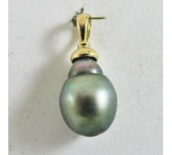 Pendentif pour perle Or Jaune