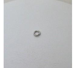 Anneau de Bout 4 mm Or Blanc