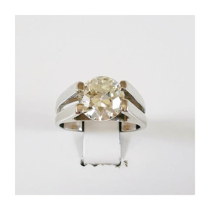 Solitaire Diamant 1.56ct Or Blanc (Bijou occasion)