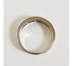 Demi Alliance Diamants Or Blanc