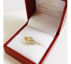 Bague Filigrane Or Jaune