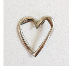 Pendentif Coeur Original Argent