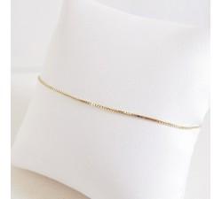 Bracelet Maille Vénitienne Or Jaune 18 carats