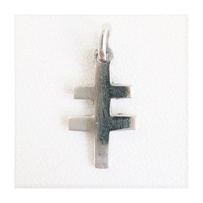 Croix de Lorraine Argent