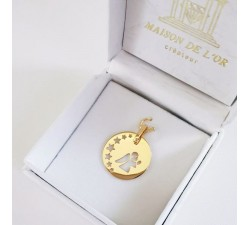 Médaille Ange Or Jaune
