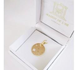 Médaille Etoiles Or Jaune