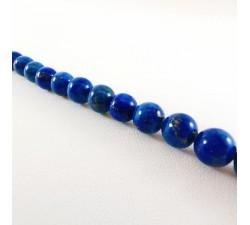 Collier Perles de Lapis Lazuli