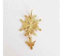 Croix huguenote Classique Or Jaune 18 carats