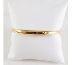 Bracelet Jonc Ouvrant Or Jaune 750 (18 carats)