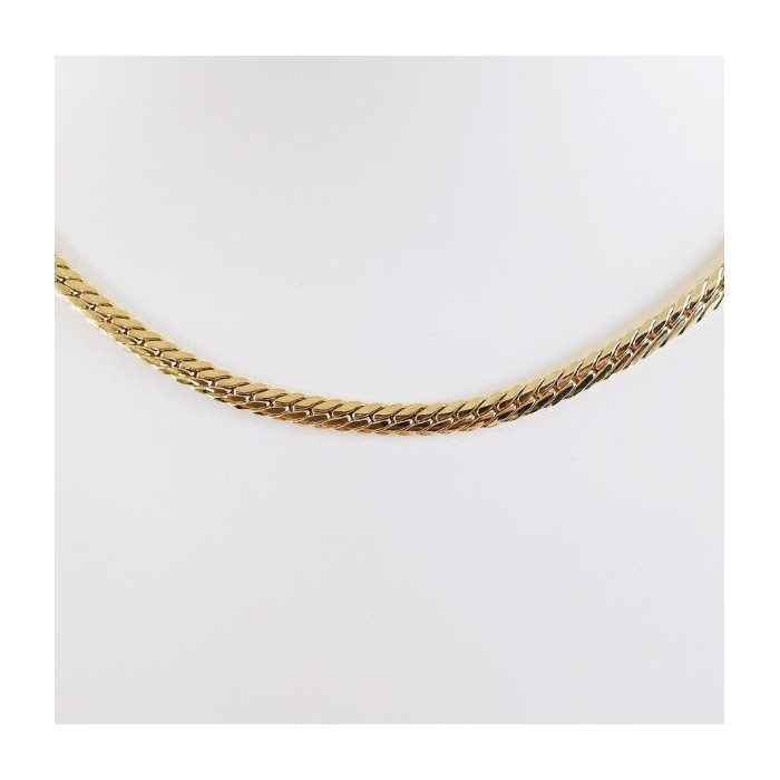 Collier Maille Anglaise Or Jaune