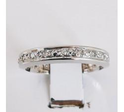 Alliance Diamants Or blanc 18 carats