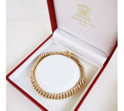 Bracelet Maille Américaine Or Jaune (Bijou Occasion)