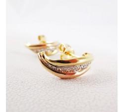 Boucles d'Oreilles Or Jaune (Bijou Occasion)