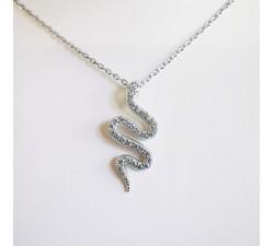 Collier Serpent Argent