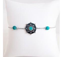 Bracelet tendance Argent