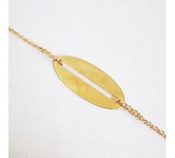 Bracelet tendance Or Jaune 750 (18 carats)