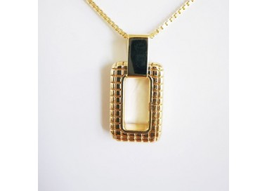 Collier City Or Jaune 18 carats Collier tendance Or