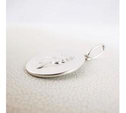 Médaille Ange Argent