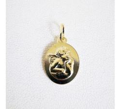 Médaille Ange Plaqué Or