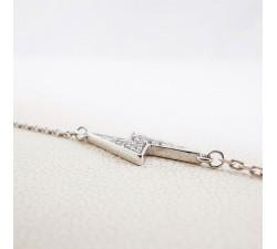 Bracelet Eclair Argent