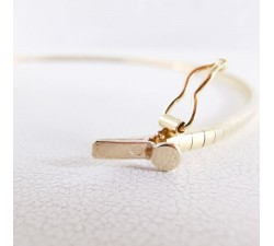 Bracelet Omega Or Jaune