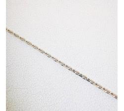 Chaine 45 cm Maille Forçat Argent