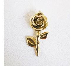 Pendentif Rose Or Jaune