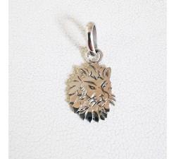Pendentif Lion Signe Astrologique Argent