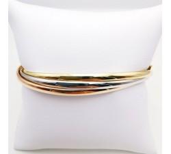 Bracelet Jonc 3 Ors 18 carats