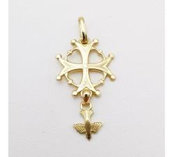 Croix Huguenote Or Jaune 750 (18 carats)