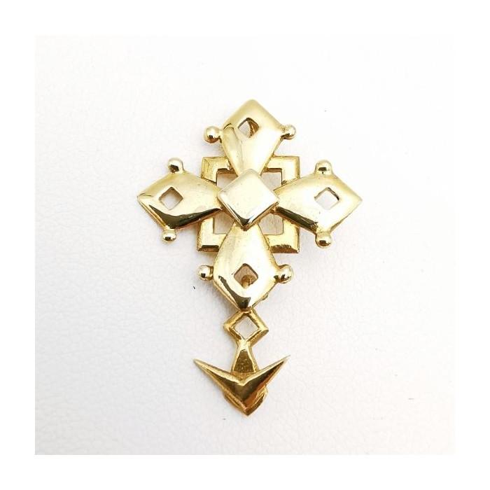 Croix Huguenote Or Jaune 750 - 18 carats