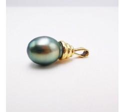 Pendentif Perle de Tahiti Or Jaune 750 - 18 carats